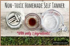 homemade self tanner a natural diy self tanner