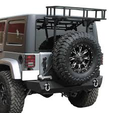 jeep jku lifted 07 16 jeep wrangler jk basket and hi lift jack bracket for rear