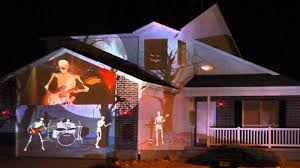 halloween light display projector 2014 halloween house projection live youtube