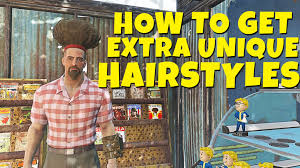 fallout 4 how to get extra unique hairstyle haircuts le