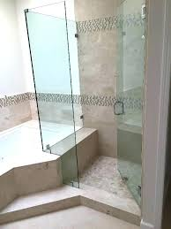 Corner Shower Glass Doors Showers Corner Glass Shower Corner Glass Shower Add A Touch Of