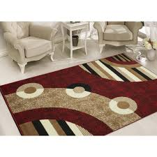 5 X7 Area Rug Sweet Home Stores Clifton Collection Modern Circles Design 5