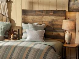 rustic bedroom designs block brown wooden stand placed crystal