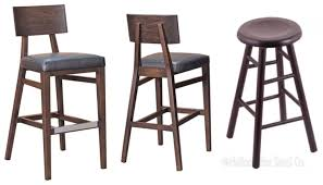 Leather Saddle Bar Stools Furniture Attractive Tall Bar Stools For Modern Bar Room Design