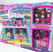 Happy Home Decor Shopkins Happy Places Sparkle Hill Happy Home With Exclusive Lucy