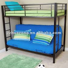 Black Metal Futon Bunk Bed Black Metal Futon Bunk Bed Bunk Beds Bunk Bed With Desk Ikea