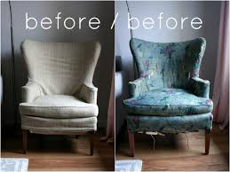 Wingback Sofa Slipcovers by Furniture Remodeling Your Single Sofa With Charming Wingback