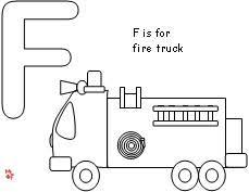 fire truck coloring pages firefighter worksheet kids