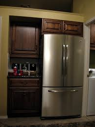 Kitchen Fridge Cabinet Cabinets Around Refrigerator Kitchen Design Regarding Kitchen