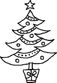 black white christmas tree clipart jaxstorm realverse