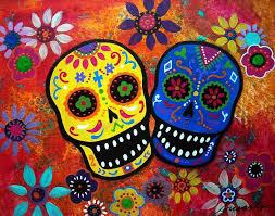 dia de los muertos sugar skulls dia de los muertos day of the dead sugar skulls picture