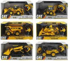 6 piece lot cat car remote control 4 channel toys dump truck heavy