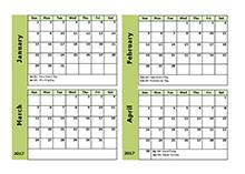 free 2017 monthly calendar templates download blank u0026 printable
