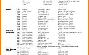 sle resume template word 2003 wonderful musical theatere template download haadyaooverbayresort