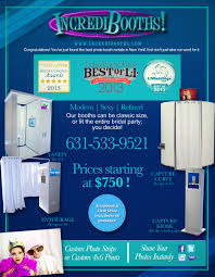 Photo Booth Rental Prices Incredibooths Long Island Photo Booth Rental Event Rentals