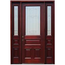 home depot black friday 2016 exterior door steves u0026 sons 64 in x 80 in savannah 6 lite stained mahogany