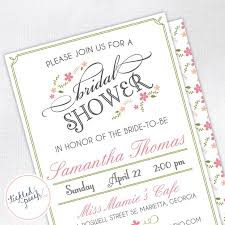 custom bridal shower invitations 43 best bridal shower invitations images on bridal