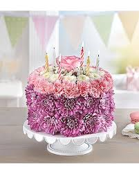 birthday flower cake birthday wishes flower cake in mountain view ca oakbrook florist