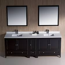 60 Inch Double Sink Bathroom Vanities by Fresca Bath Fvn20 361236es Oxford 84