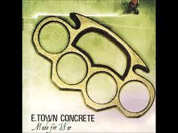 town photo albums e town concrete made for war