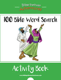 100 bible word search activity book for sale bible words word