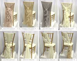 chair sash ties custom details adornments luxe event linen