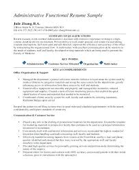 functional resume template administrative assistant director executive administrative assistant sle resume