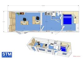 plan des bureaux modulaire en kit toutes les etapes stm modules bureaux et