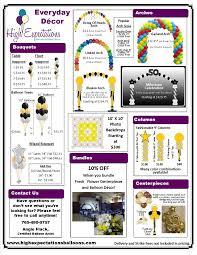 high expectations balloons u003e decor pricing balloons pinterest