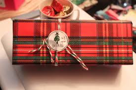 christmas plaid wrapping paper charmed earth something wrapped christmas gifts wrapped