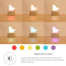 93 best office design yoyo portable multicolor silicone led bird bluetooth speaker