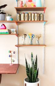 Diy Wall Desk Pinned It Made It Loved It Diy Mounted Wall Desk The Crafted