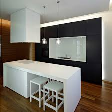 Interior Design Modern Kitchen Downtown Apartment Modern Kitchen Interior Design Decobizz