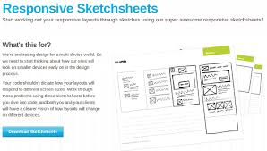 responsive web design layout template essential sketchsheets for designing responsive layouts