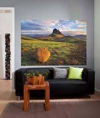 komar photomurals vol 14 feature wall mural pattern no 1 600 einhyrningur einhorn nennen die islander diesen berg