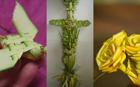 palms for palm sunday 18 amazing things woven out of palm sunday palms churchpop