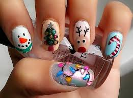 gel nail pattern for the season of advent and christmas u2013 fresh