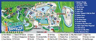 Oceans Map Park Map Ocean Breeze Waterpark