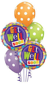 get well soon balloons get well soon dots balloon bouquet balloon bouquets sydney