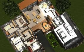 voguish d bungalow rendering model d home designs house d design d