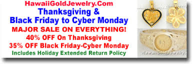 black friday jewelry sales hawaii gold jewelry black friday thru cyber monday big sale