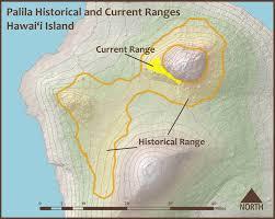 Kbcc Map Restore Mauna Kea Palila Management