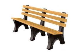recycled plastic benches commercial recycled plastic park
