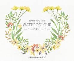 watercolor wreath png floral clip art flower wreath wedding