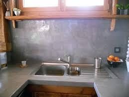 enduit carrelage cuisine enduit beton cire sur carrelage cuisine plan de travail pour
