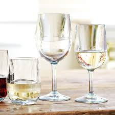 Wine Glasses Duraclear Red Wine Glasses Set Of 6 Williams Sonoma