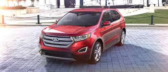 2018 ford edge suv sporty utility for unstoppable performance