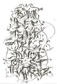 graffiti walls graffiti alphabet calligraphy in several design