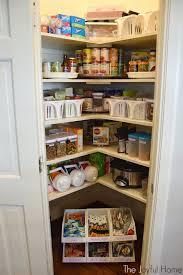 organized pantry and fridge the joyful home