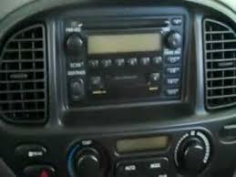 2002 toyota sequoia dvd navi stereo install youtube